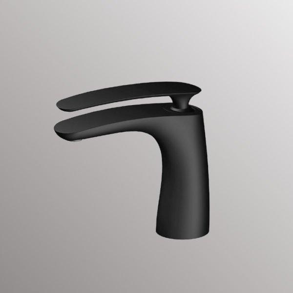 bath faucets in matte black finish