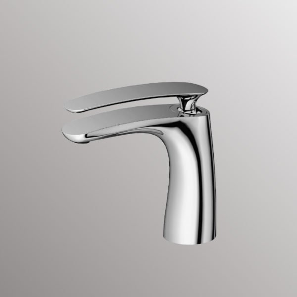 bath faucets in chrome finish