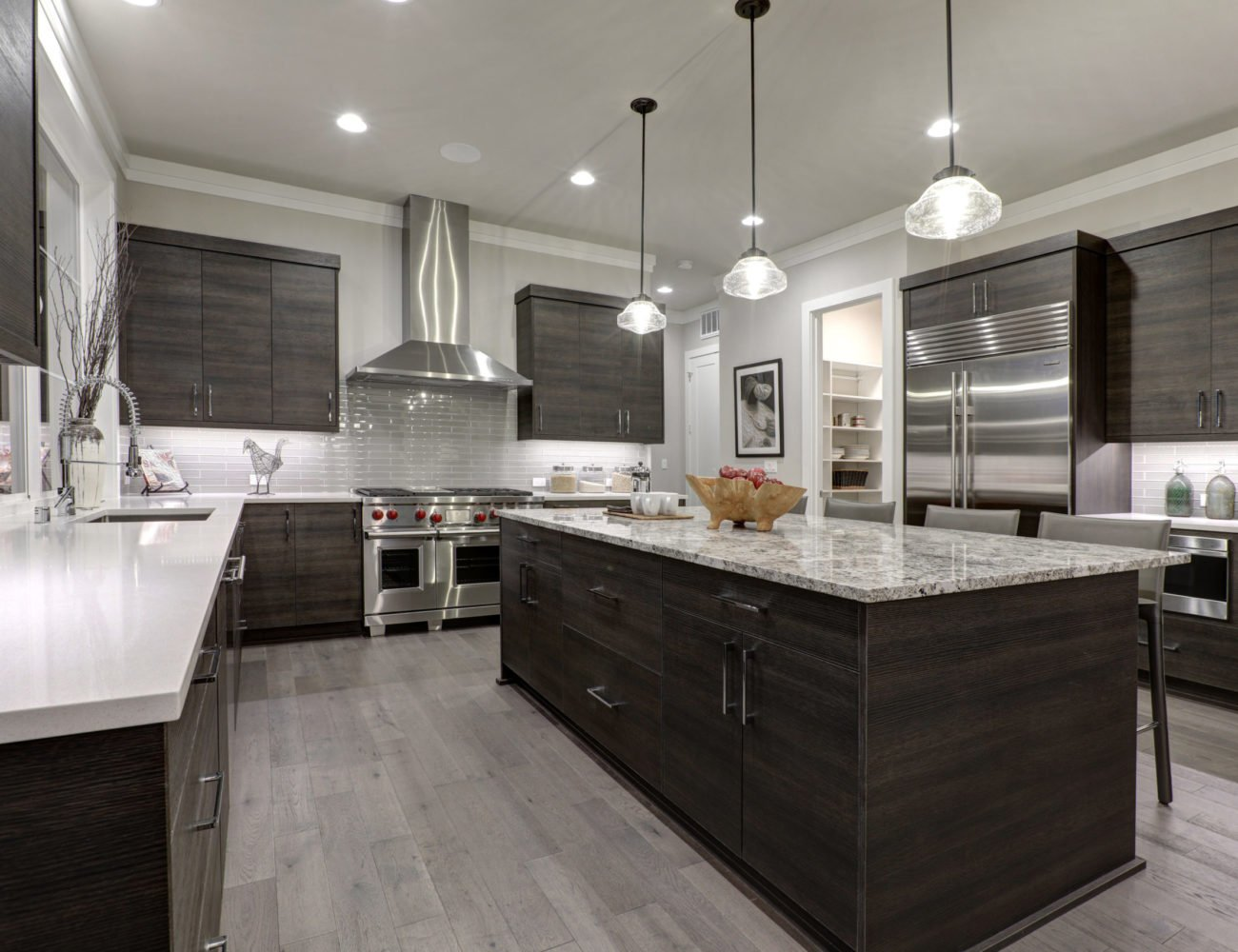 Modern Kitchen in Park Ridge at Fusion Home Corp.