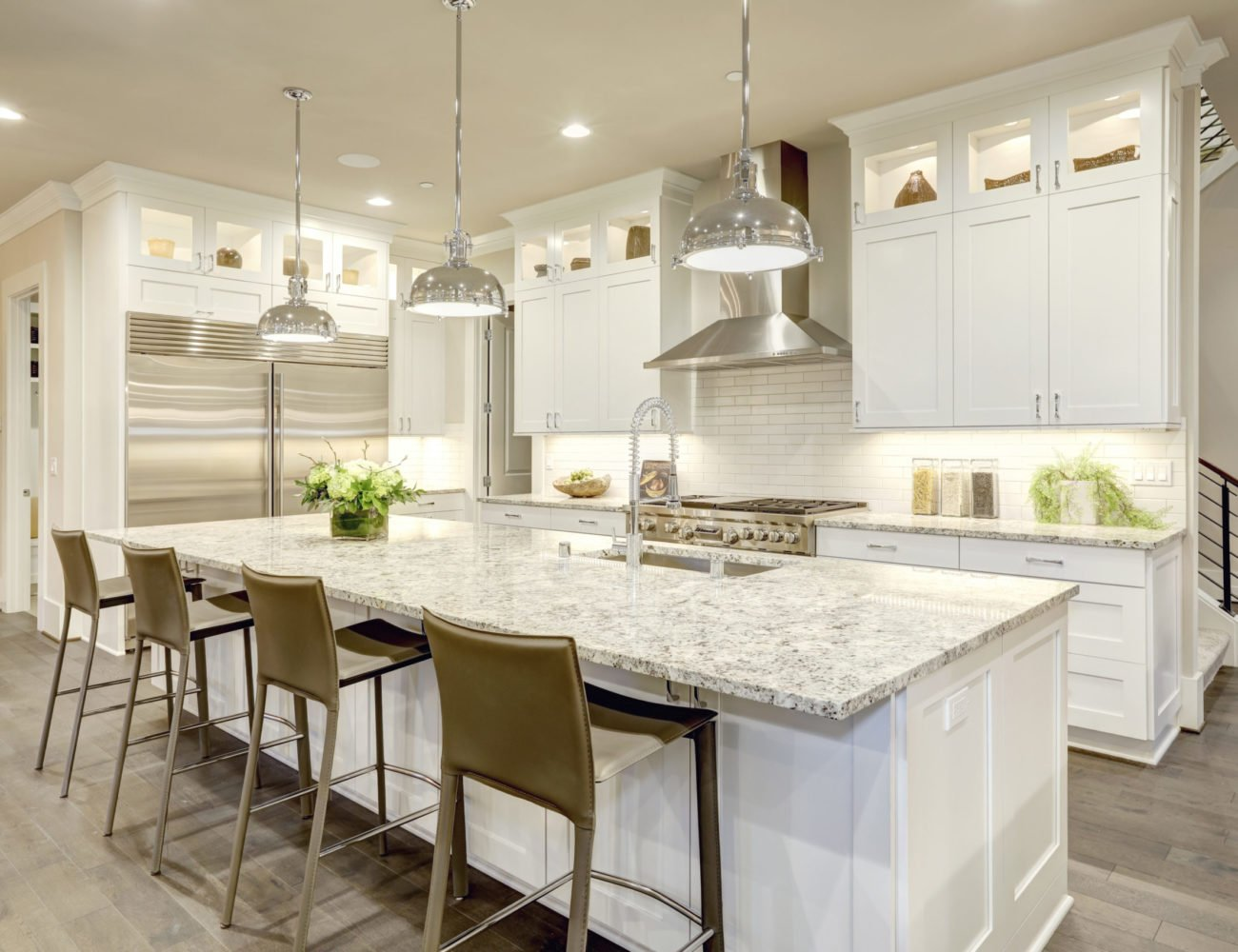 Kitchen Cabinets in Riverwoods at Fusion Home Corp.