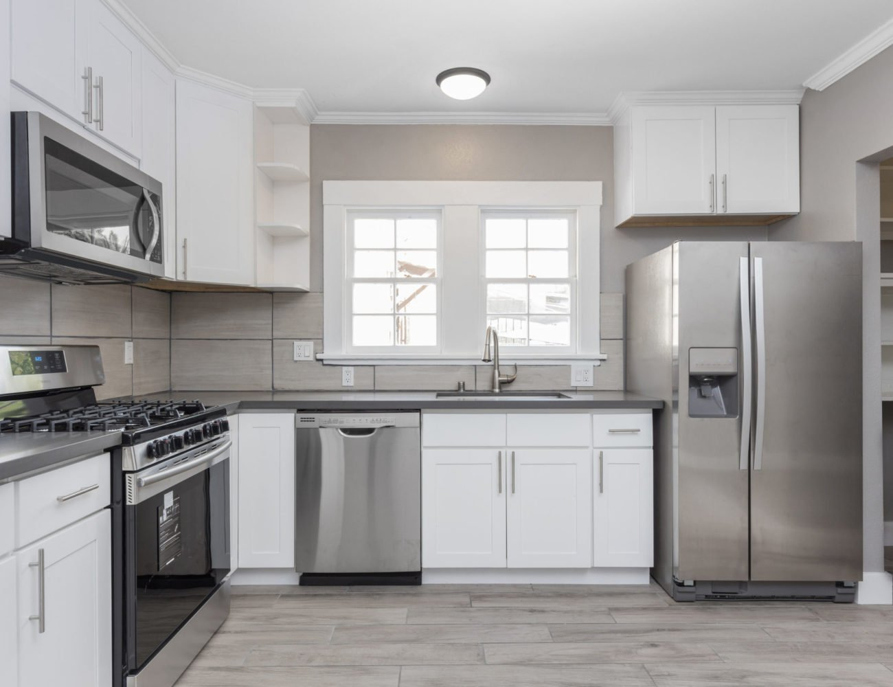 Modern Kitchen Cabinets in Deerfield at Fusion Home Corp.