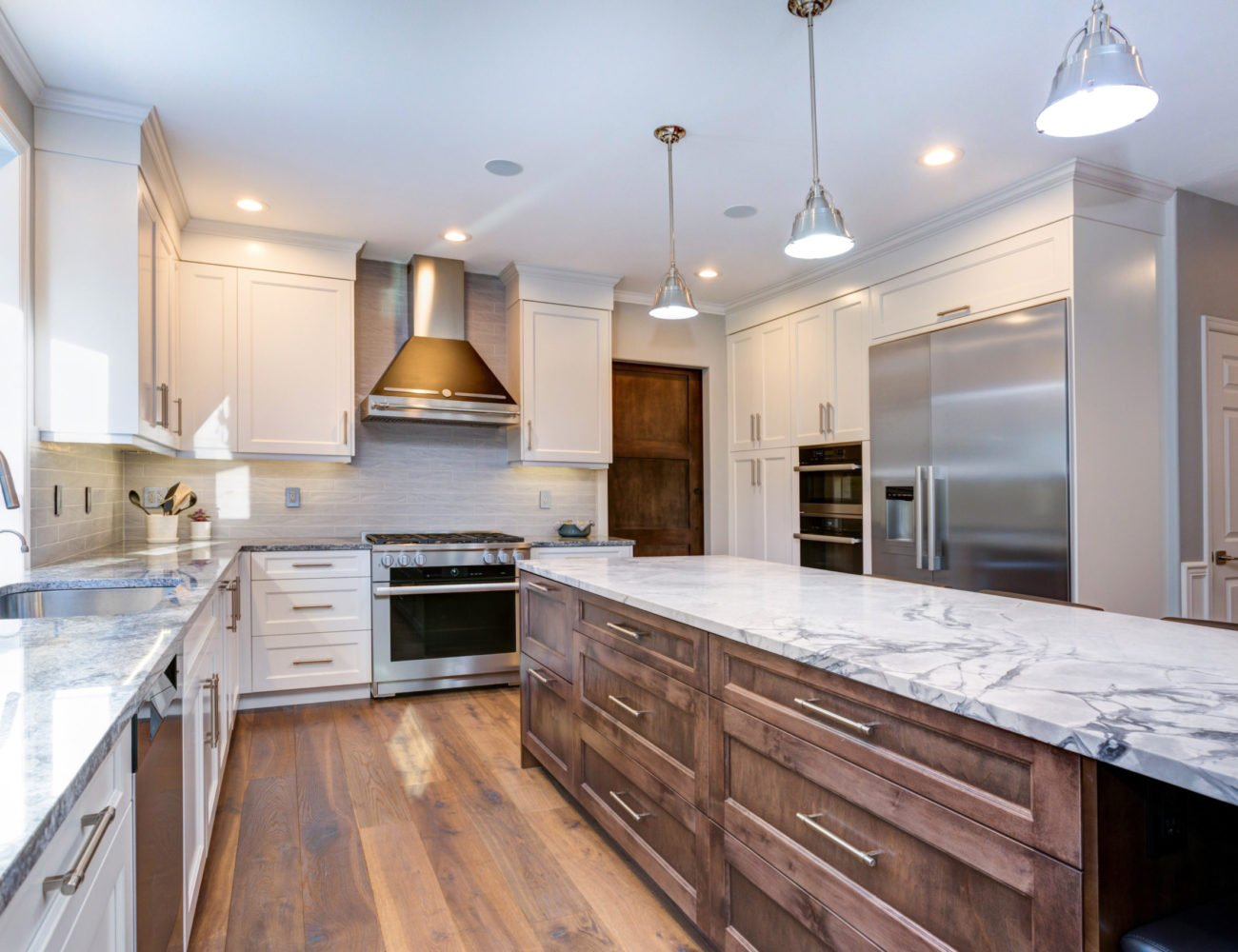Luxury Kitchen Cabinets in Northbrook at Fusion Home Corp.