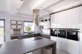 Luxury Kitchen Cabinets in Kildeer at Fusion Home Corp.