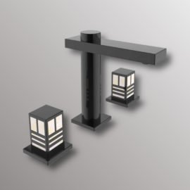 dua bathroom faucet in black