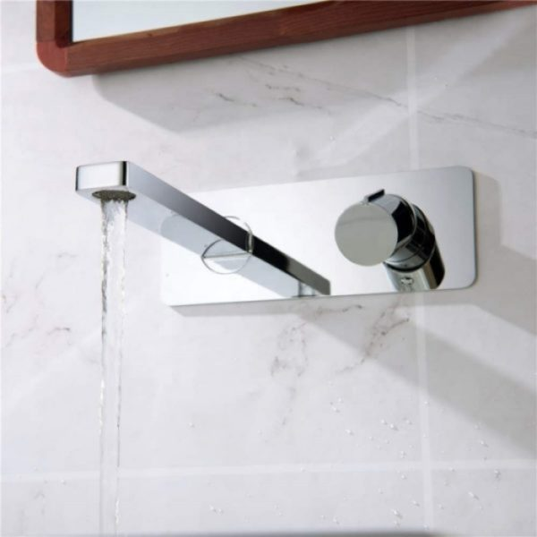 wall mounted mixer faucet